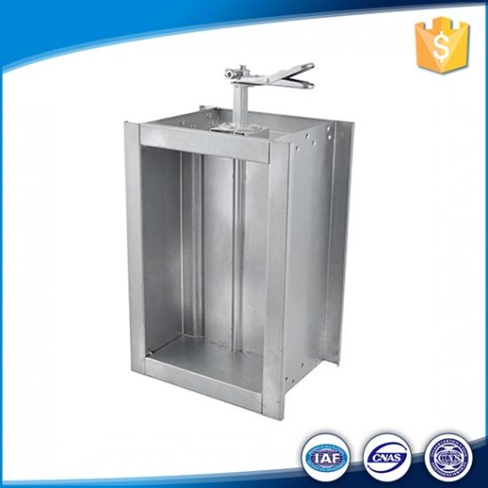 Buy Hvac rectangular Manual Galvanised Steel Adjustable Air